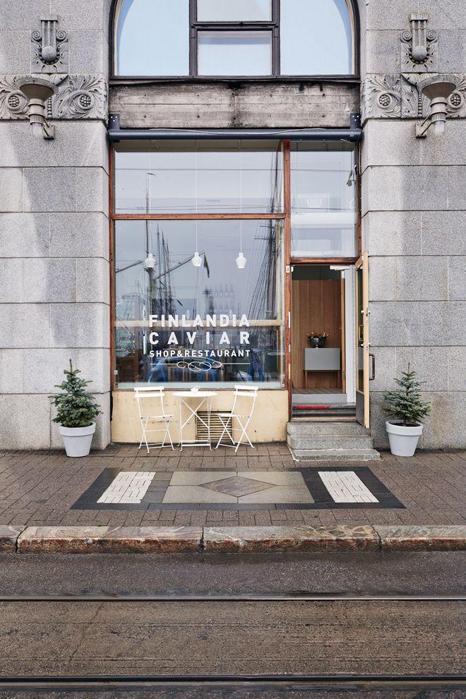 Finlandia Caviar, Helsinki   Restaurant Design
