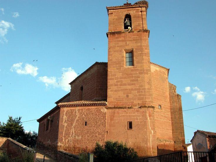 Iglesia de N.ª S.ª de la Asunción, Azofra, La Rioja, Camino de Santiago