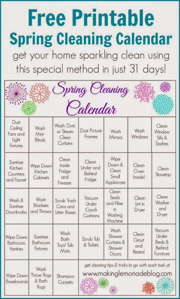 178 best Spring Cleaning images on Pinterest Clean house - sample spring cleaning checklist