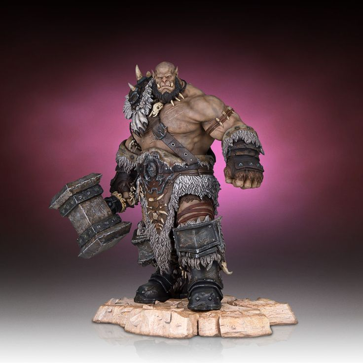 Ogrim Statue by Gentle Giant - Warcraft The Beginning - Release Date: 11/2016