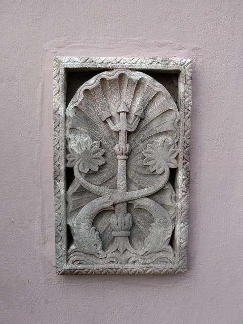 wall detail, Somerset House, Bermuda
