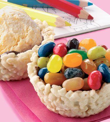 Ice-Cream Basket
