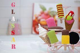 Svarta Fåret : Virka sommarens glassar!