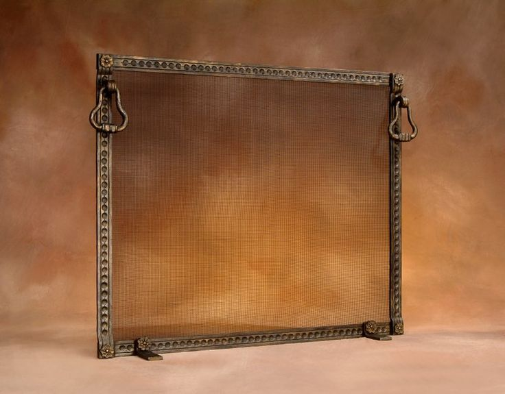 Custom fireplace screens, fireplace accessories