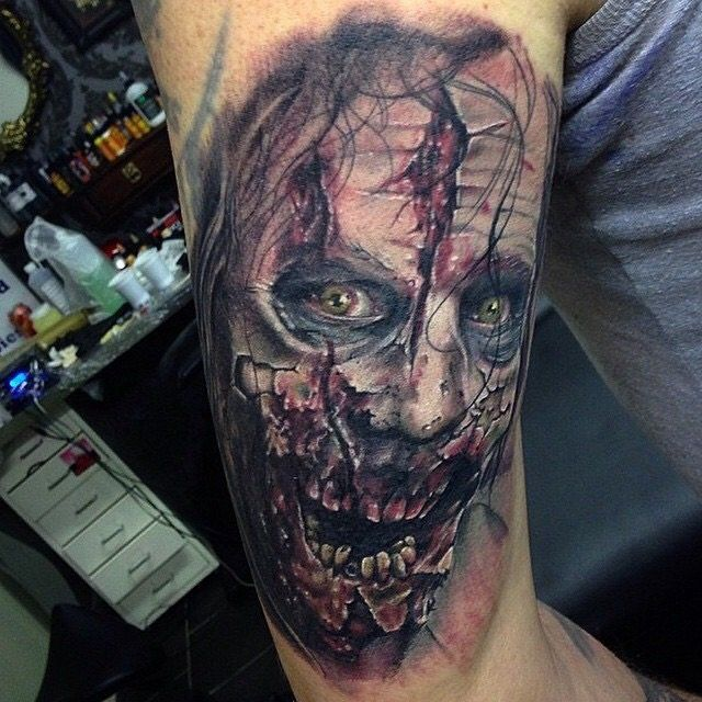 1000+ Images About Horror Tattoo On Pinterest