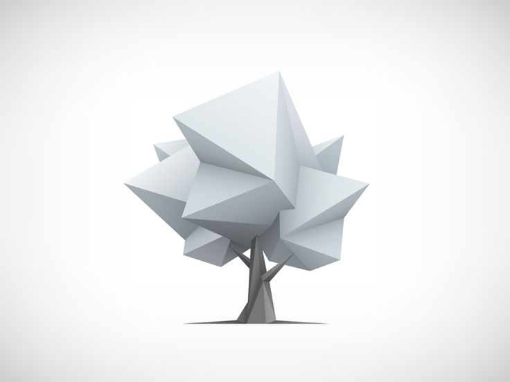 Low poly tree by Aleksei Vasileika