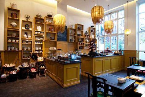 Vietnamese restaurant and tea house Chen Che in Berlin.
