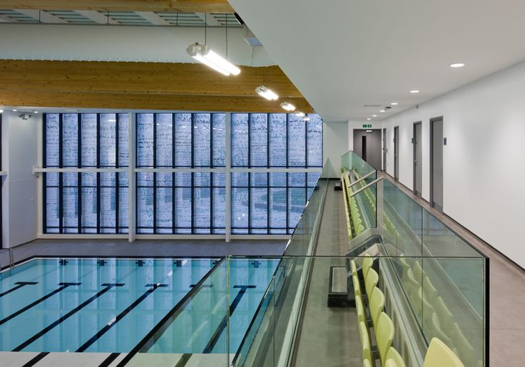 Ashington Leisure Centre | Ward Robinson Interior Design | Swimming pool design