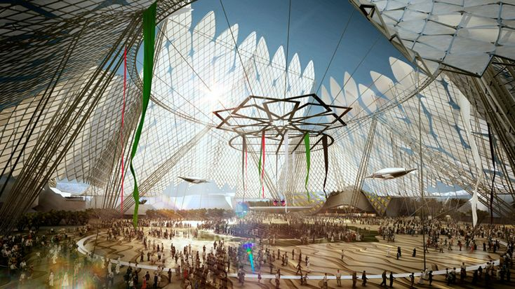 HOK chosen to masterplan dubai world expo site in 2020