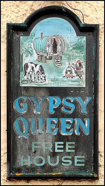 I want to stay at the Gypsy Queen. I'll stay in that vardo out back...