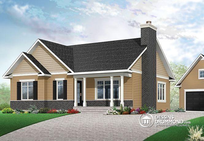 Plan de maison no. W3147-V3 de dessinsdrummond.com