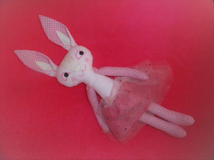 Veginca. plush bunny