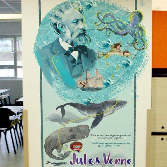 Yabancı diller sınıfı // Jules Verne