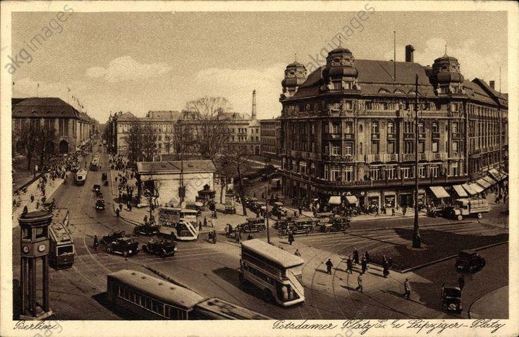 Potsdamer Platz und Leipziger Platz