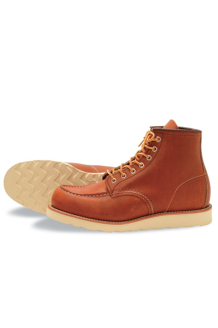 "Red Wing Shoes® - 6"" Classic Moc Toe Oro Legacy Leather (R0875)"