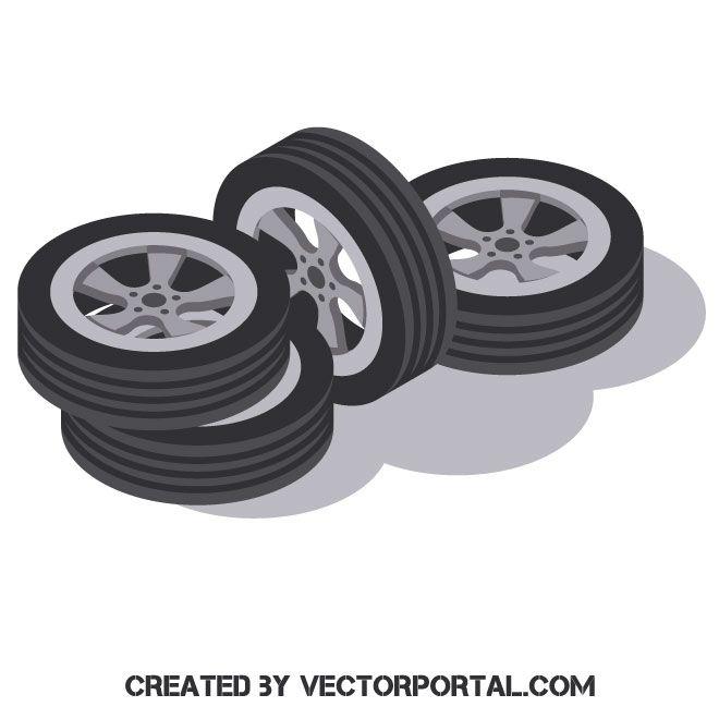 Car Wheels Car Wheels Car Vector Free