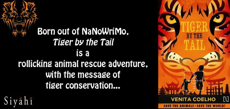 Find out more about AIA – the non-governmental inter-species Animal Intelligence Agency, in Venita Coelho's latest book 'Tiger by the Tail.' Save the animals. Save the world.
