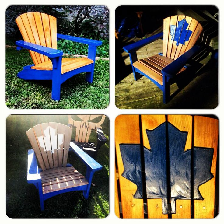 Adirondack chair Toronto Maple Leafs Adirondack chair
