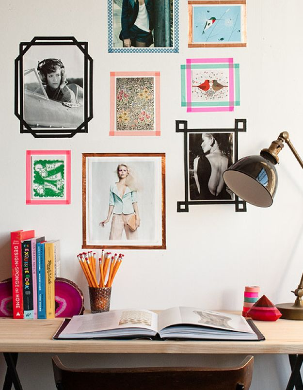 10 Ways To Get Decorative With Washi Tape