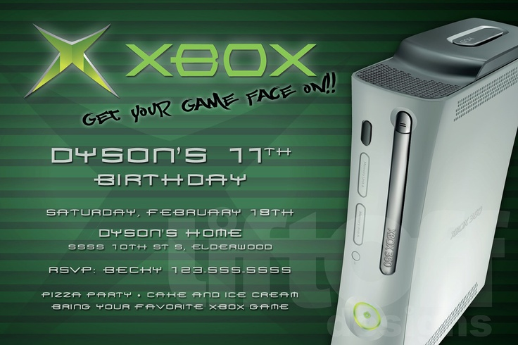 xbox birthday party - Google Search