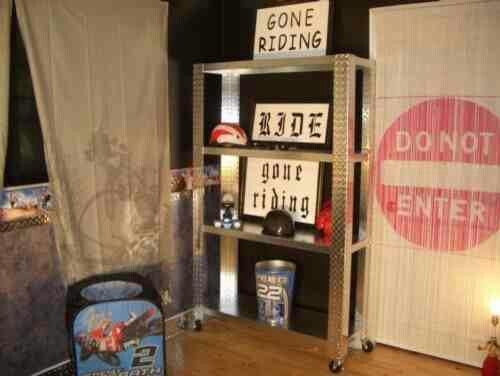 Dirt bike room ideas. 17 Best images about Grey s Room on Pinterest