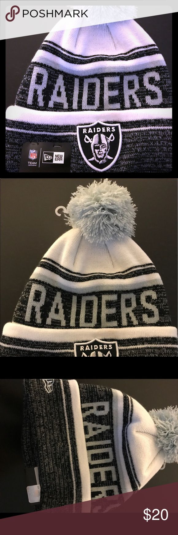 Raiders beanie Brand new, still has tags on it. OSFA Accessories Hats