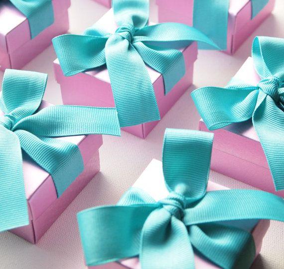 Personalized Wedding Favors Teal Purple Orchid Violet Lanvedar, Bridal Shower Favor, Tiffany Blue Weddings, Beach Weddings, Bridesmaid Gifts