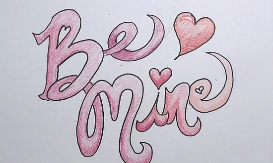 valentines drawing mine valentine drawings draw awesome paint notes learn