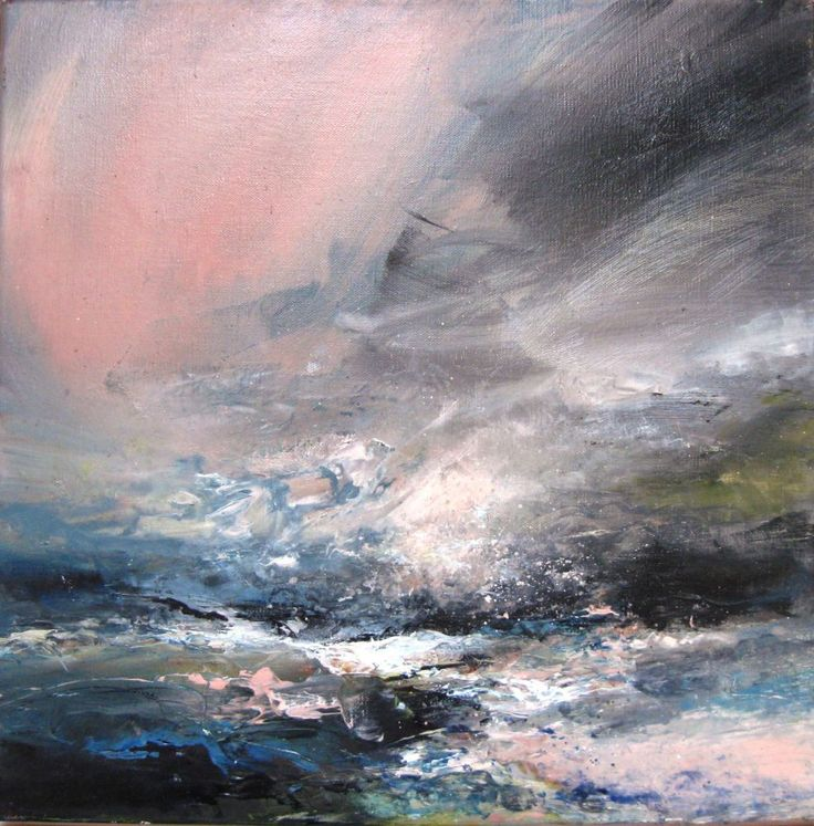 """""""Pink Light"""" by Janette Kerr - Oil on canvas"""