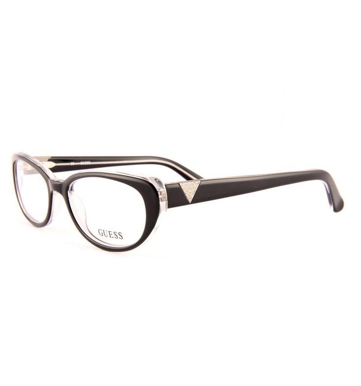 Dámské brýle černé Guess GU2296 BLK #guess #eyeglasses #brille #lunettes #damske #bryle #praha #optika #eurooptik #moda