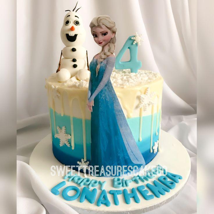 Lonathemba celebrated her 4th birthday with this red velvet Frozen movie themed cake ❄️❄️. #sweettreasures #sweettreasurescakeco #frozen #frozencake #frozenmovie #elsa #orloff #4yearsold #cake #birthday #kidsparty #celebrations #chocolatedripcake #buttercreamombre #calebrationcakes #ice #lonathemba #johannesburg #southafrica