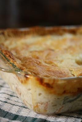 Old Fashioned, Rich Chicken Pot Pie.  (best one I've found)