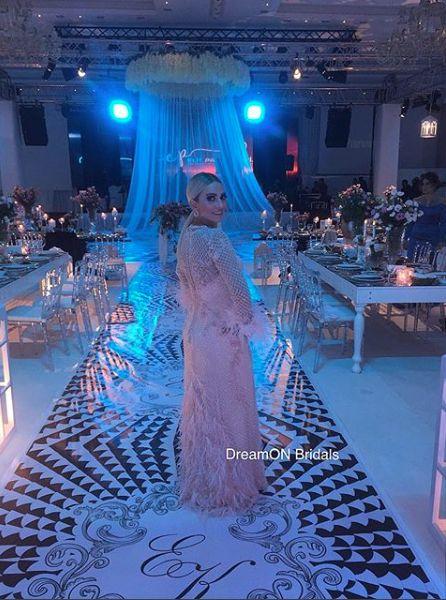 Kendisi için özel tasarlanan tamamı el işlemesi olan zarif DreamON couture abiye modeli Gaziantep DreamON müşterimiz Burcu Özdurak'a çok yakıştı www.dreamon.com.tr  #dreamon #dreamoncouture #gelinlik #couture #gelinlikmodelleri #abiye #abiyemodelleri #kaftan #great #fashion