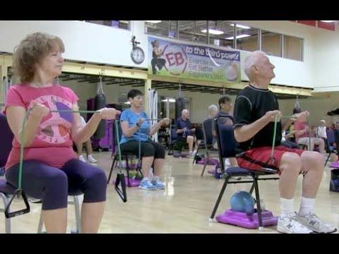 Cathe Friedrich's Senior Fit Class-7-3-2014 - As part of last week's Cathe Live double header we featured our Senior Fit class that Cathe teaches weekly at her Gym in New Jersey. Participants that take this class range in age from 55 to over 90. Nearly 60 seniors were in attendance for last Thursday's class proving that fitness truly is important for everyone no matter what their age. The full class is available to subscribers of Cathe Live or OnDemand at http://cathe.com/stream/live/