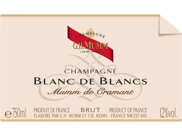 G.H. Mumm Grand Cru Blanc de Blancs Champagne