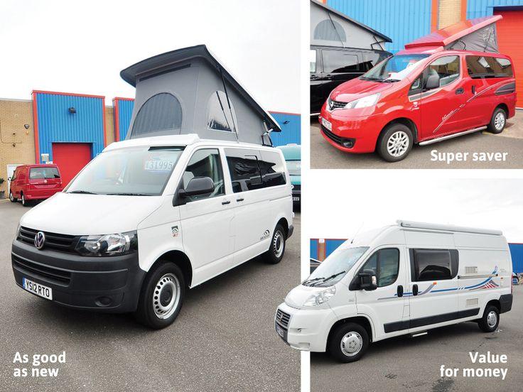 Practical Motorhomes Used Van Buyers Guide 3 Campervans