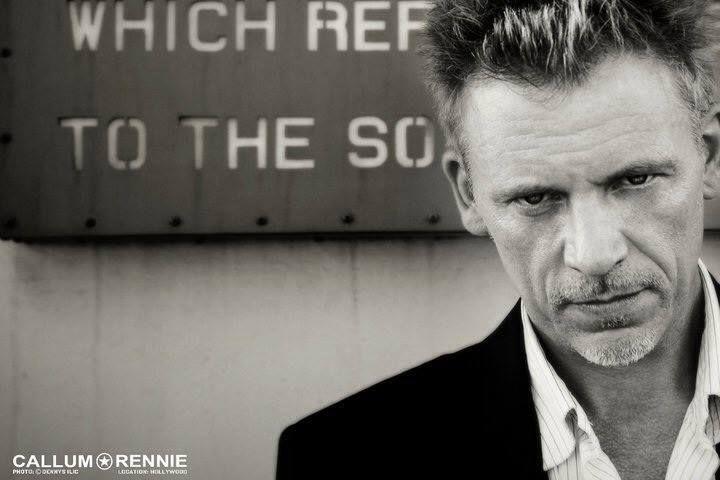 Callum Keith Rennie; good Lord, this man, look at him smoulder.