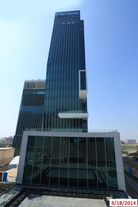 Front View of Floreal towers