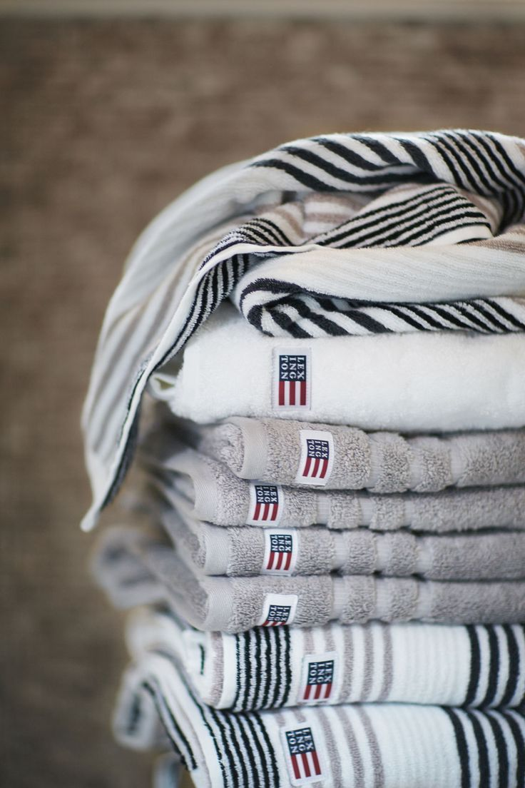 Soft terry cotton of the highest quality is the ultimate everyday luxury you cannot resist. Explore the Lexington Company range of bath rugs, towels, bathrobes and beach towels in the link.