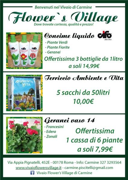 Vivaio Flower's Village - offerte