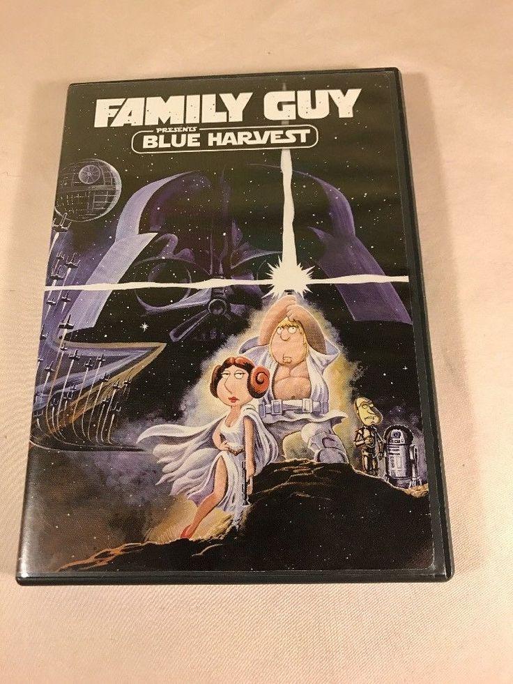 Family Guy Presents Blue Harvest DVD Digital Copy Star Wars Spoof
