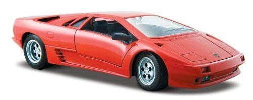 Maisto Die Cast 1:24 Red Lamborghini Diablo by Maisto Tech. $12.77. Die-cast metal body with plastic parts. Opening doors with hood or trunk. This vehicle features die-cast metal body with plastic parts, opening doors, hood or trunk and detailed chassis