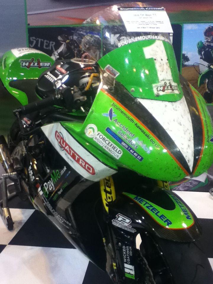 James Hillier's lightweight TT winning bike