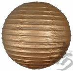 "12"" Gold Round Paper Lanterns - 1.20  This site has all sizes...pretty cheap. Would look best with an assortment of sizes"