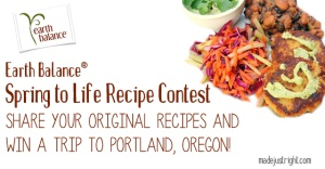Enter the Spring to Life Recipe Contest from Made Just Right!