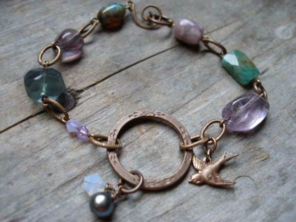 Fly Away Home Charm Bracelet Project