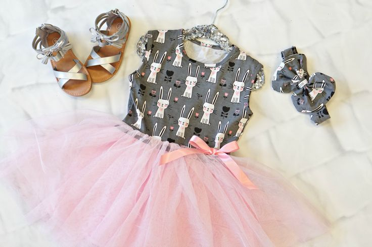 Little Bunny Tutu:  an adorable Easter dress for just $12.60 with a share!