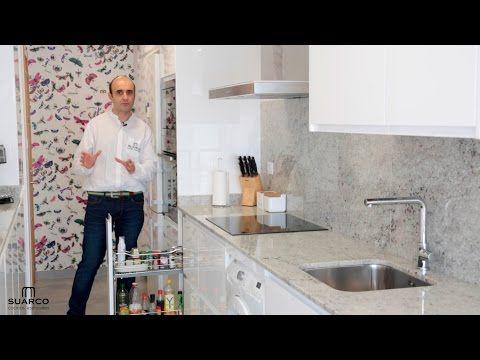 45 best cocinas suarco en cantabria images on pinterest - Cocinas blancas con granito ...