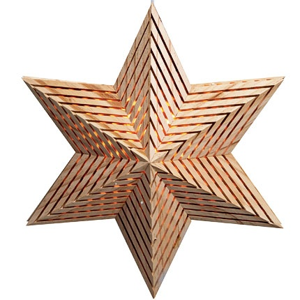 """Dalun"" Advent star from Markslöjd."
