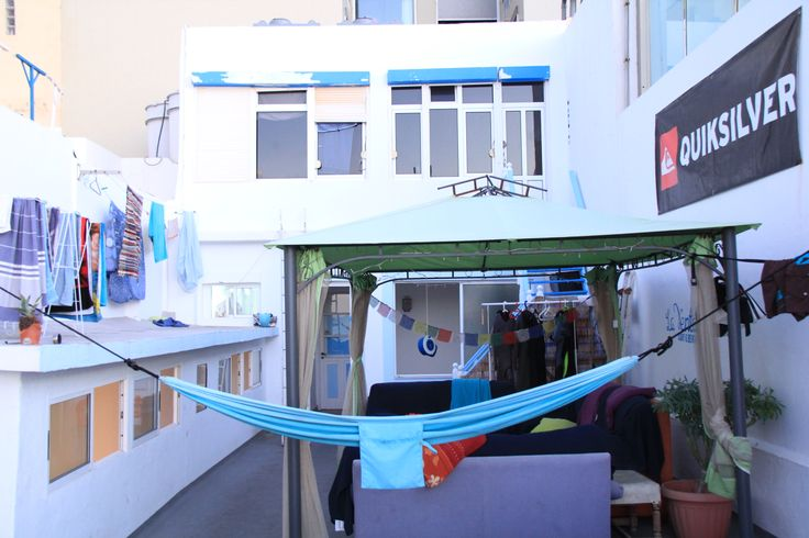 Nice new surf hostel La Ventana Azul Sea View in Las Palmas